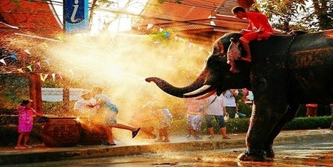 Teaching English in Thailand: Celebrating Songkran - The Thai New Year! | Discover the World while teaching English abroad | Scoop.it