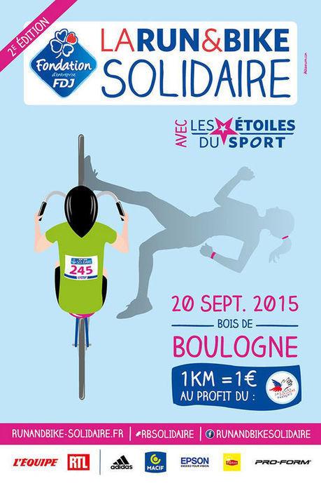 La Run&Bike Solidaire 2015 accueille aussi les stars du sport - Télé Loisirs.fr | Folksonomie | Scoop.it