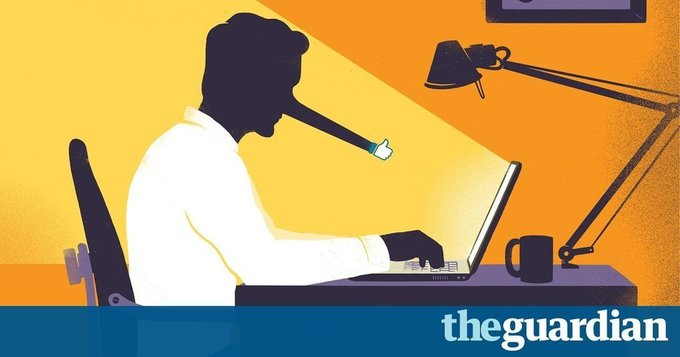How technology disrupted the truth by Katharine Viner // The Guardian