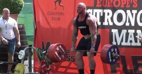 Hafthor Bjornsson, aka The Mountain, wins Europe Strong Man Competition | Muscle Bears And Gay Fitness | Scoop.it
