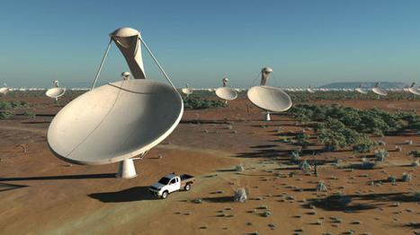Telescopes Team Up to Form 5,000-Mile-Wide Mega-Scope | Technoculture | Scoop.it