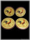 NEW 4 PIECE COVER Set Country Rooster Kitchen Burner Stove Range Covers Decor   aePiots   Scoop.it