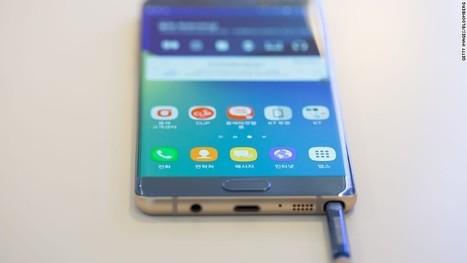 U.S. formally recalls Samsung Galaxy Note 7@Offshore stockbrokers | Offshore Stock Broker | Scoop.it