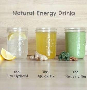 Natural Energy Drinks - Flavor Living | Nutrition | Scoop.it