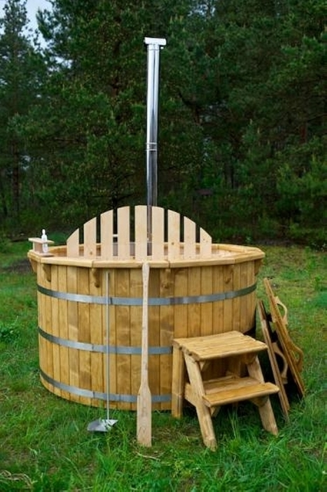 Pallet Hot Tub and Pool Deck Ideas | Upcycled Objects | Scoop.it