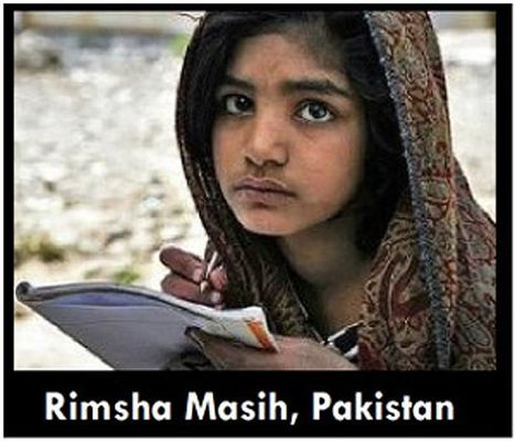 Muslim Leaders Support Pakistani Girl Rimsha Masih who was Accused of ... - Opposing Views | The Indigenous Uprising of the British Isles | Scoop.it