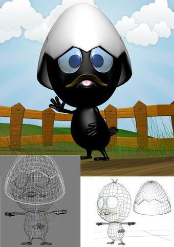 Calimero 3D | 3D Library | Scoop.it