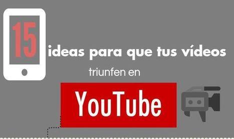 15 consejos para el éxito de tus vídeos en YouTube (Infografía) | Creatividad en la Escuela | Scoop.it