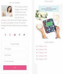 Restored 316  Simply Charming : Genesis WordPress Theme | WordPress Themes Review | Scoop.it