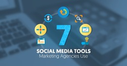 7 Social Media Tools Marketing Agencies Use | Internet Marketing Inc. | The MarTech Digest | Scoop.it