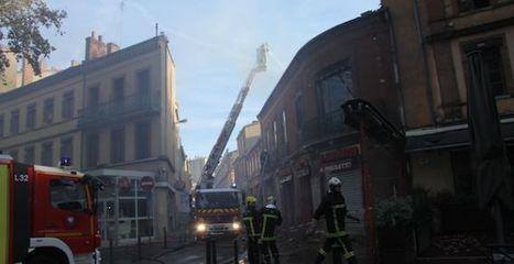 Un incendie bloque une partie du centre-ville de Toulouse   Toulouse La Ville Rose   Scoop.it