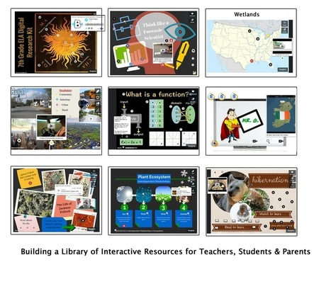 Cool Tools for 21st Century Learners: Building a Free Library of Interactive Resources | Edtech PK-12 | Scoop.it