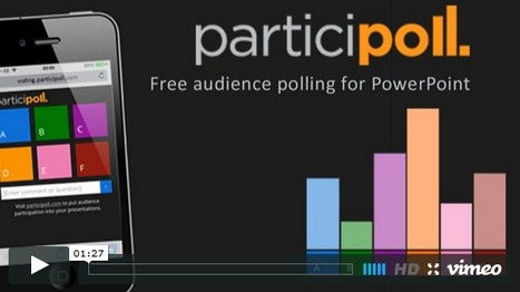 ParticiPoll - free audience polling for PowerPoint | Bradwell Institute Media | Scoop.it
