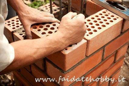 Fai da te un muro di mattoni