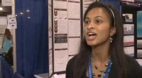 Eesha Khare, 18 ans, invente un système pour recharger son téléphone... en 20 secondes   -Interaction-   Scoop.it