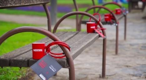 En Croatie, Nescafé attache 1.000 tasses avec des cadenas dont les codes sont à deviner | streetmarketing | Scoop.it