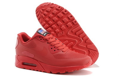 Nike Air Max 90 Hyperfuse Pack Mens Running Shoes Red | Nike Running Shoes | Scoop.it