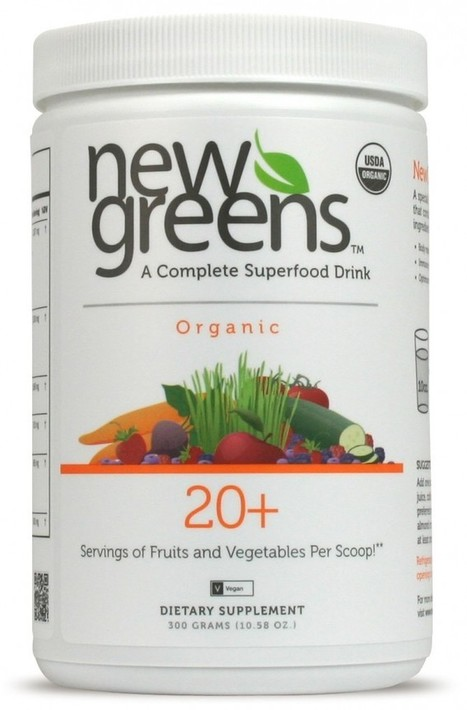 Review:: New Greens Organic Superfood Drink | Natural Beauty and Skincare | Scoop.it