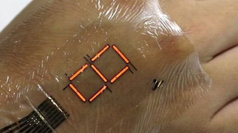 E-skin 'can monitor body's oxygen level' - BBC News | Technology in Health and Social Care | Scoop.it