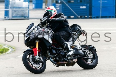 2015 Ducati Multistrada 1200 DVT Spied! | Ductalk Ducati News | Scoop.it