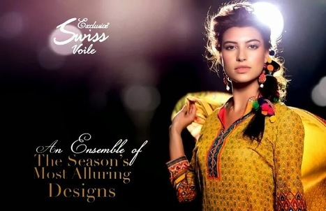 Five Star Swiss Voile Lawn Collection 2014-2015 | Collection of Pakistani and Indian Dresses | Scoop.it
