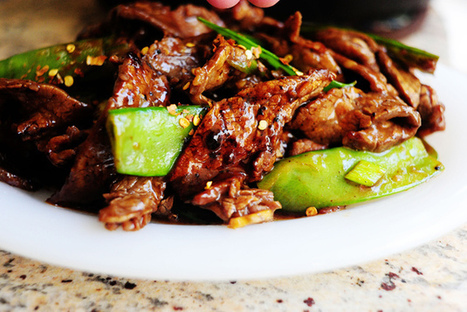 Beef with Snow Peas on Fetch My Recipe | Beefy Beef | Scoop.it