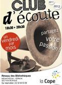 Club d'écoute de la médiathèque - Vernon | Animations musicales en bibliothèque | Scoop.it