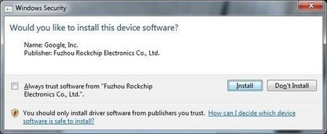 Simplified Method to Install Rockchip USB Drivers in Windows XP/7/8 | Embedded Systems News | Scoop.it
