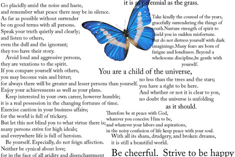 desiderata_by_striveforpeace.jpg (Imagen JPEG, 1800 × 1200 píxeles) - Escalado (52%) | Inspirational Poetry, Speeches and Songs | Scoop.it