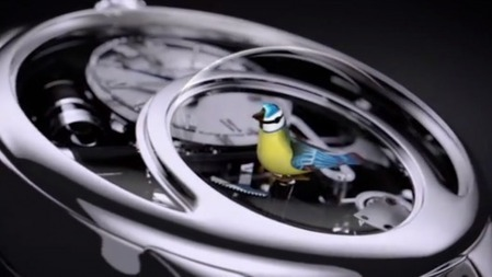The Charming Bird watch is an automaton for your wrist   Wearable Technology   Scoop.it