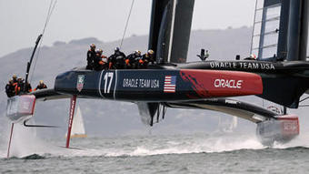 America's Cup boats use innovative design built for speed and power   sailing   Scoop.it