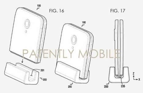 Nueva patente de Samsung muestra móvil que se dobla para cargarse | Re-Ingeniería de Aprendizajes | Scoop.it