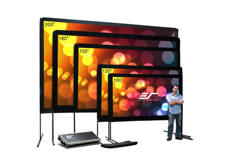 Blog: Outdoor Projection Screen Material | Projector Screens | Scoop.it