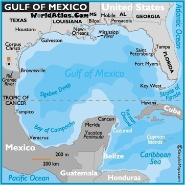 Bill would change Gulf of Mexico to Gulf of America? | Texas Coast Living | Scoop.it