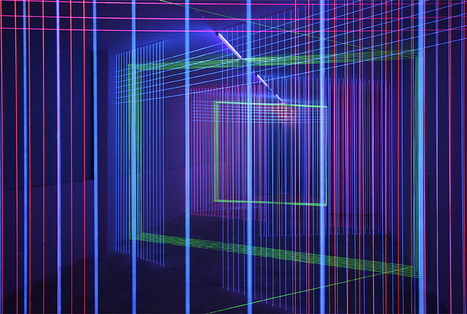 Drawing In Space: Jeongmoon Choi's Extraordinary Light Installations | space | Scoop.it