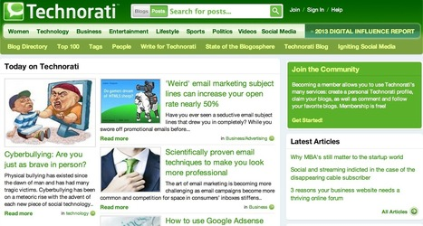 How to Submit Your Site to Technorati (and Get Free Traffic) – UpCity | Digital-News on Scoop.it today | Scoop.it