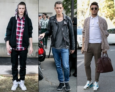 Cool & fashionable men's sneakers / trainers | Fashion | Scoop.it