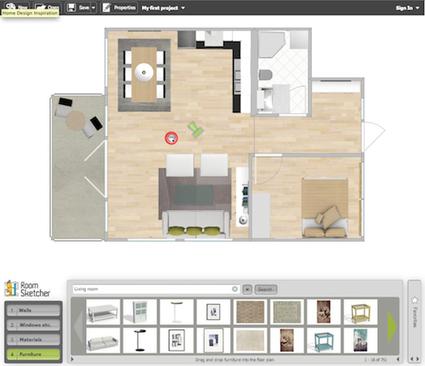 3 services en ligne gratuits pour dessiner l'intérieur d'une maison | Autour du Web | Outils 2.0 | Scoop.it