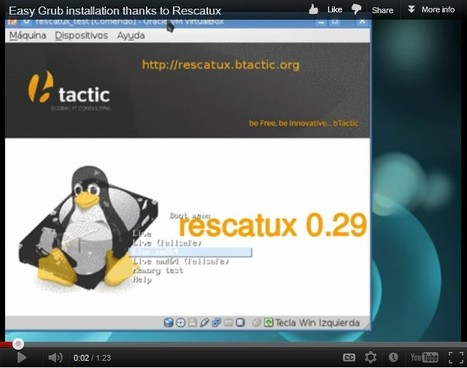 Rescatux - Super Grub Disk | Time to Learn | Scoop.it