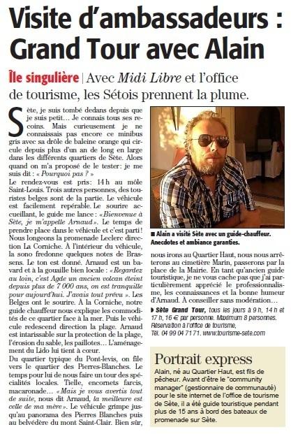 Sète Grand Tour | Sète Tourisme : les ambassadeurs-reporters sur le terrain | Scoop.it