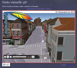 Cartographie en Brabant Wallon: Visite virtuelle 3D | Visites virtuelles | Scoop.it