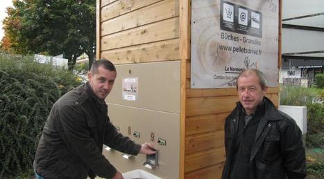 Paimpol. Pellets et bûches s'achètent en distributeur   GRANULE ET PELLET ENERGIE France   Scoop.it