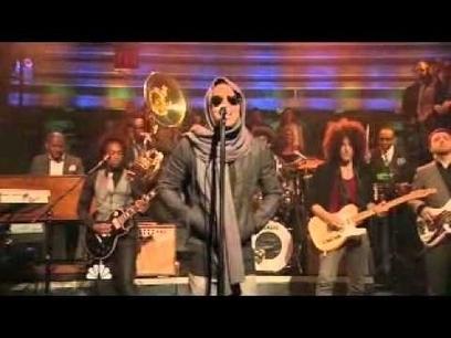 Lenny Kravitz - Roots, Rock, Reggae  Jimmy Fallon | Reggae Hangout TV News | Scoop.it
