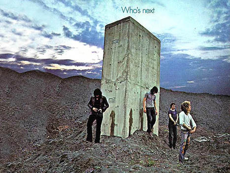 Who's Next   - The Who   - 1971   Album covers   Scoop.it