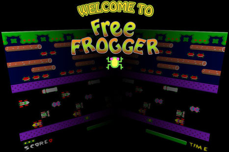 Frogger - Play Frogger Online | classic arcade games | Scoop.it