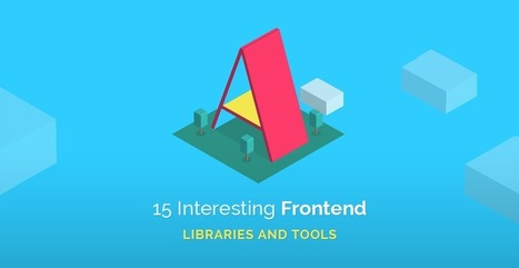 15 Interesting Frontend Libraries And Plugins For March 2016 | Tutorialzine | Web & Réseaux | Scoop.it
