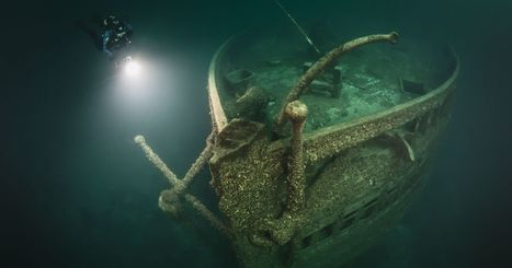 Diver explores under Lake Erie ice - Port Clinton News Herald   DiverSync   Scoop.it