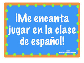 Fun for Spanish Teachers: 17 Fun Games to Play in Spanish Class! | Spanish 1 | Scoop.it