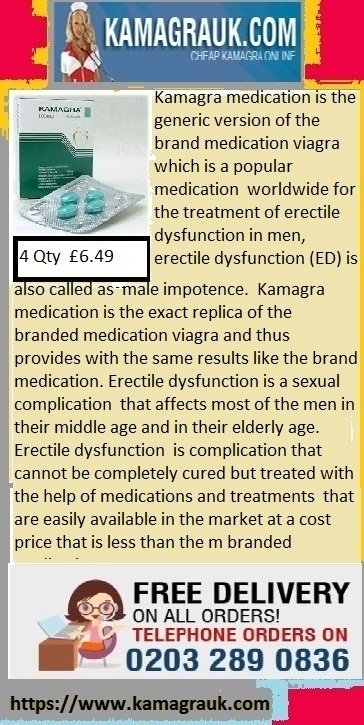 Kamagra medication is the best impotence treatment obtainable at cheap cost | Kamagra male Impotent | Scoop.it