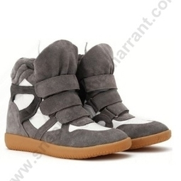 HUYID-03O Isabel Marant Sneakers Grey Suede and White LeaTher Bekket Low Cost | sneakerisabelmarrant.com | Scoop.it